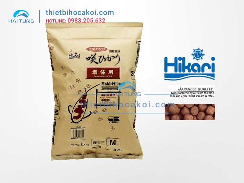 Thức Ăn Tăng Trưởng cá Koi Saki Hikari Growth 15kg
