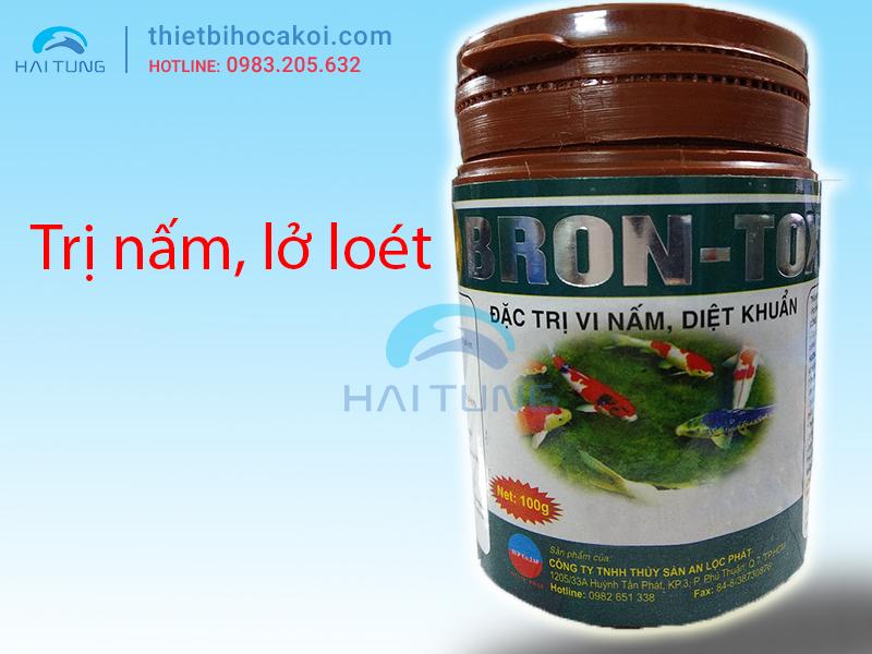 Thuốc Phòng và Trị Nâm cá Koi BRON-TOX