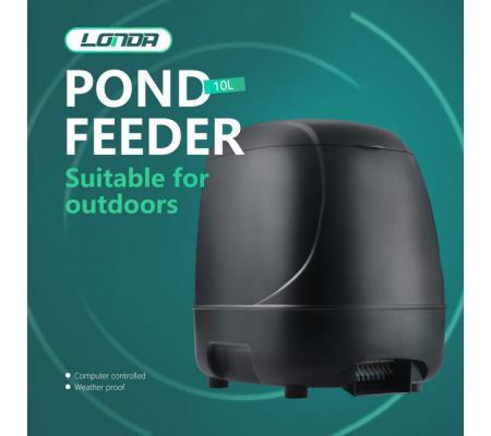 Máy cho cá Koi ăn tự động LONDA 10 lít 2018 - tặng Pin