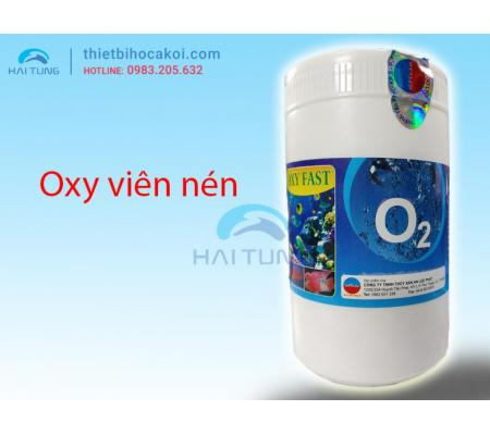 bổ sung Oxy cho hồ cá OXY FAST lọ 500g