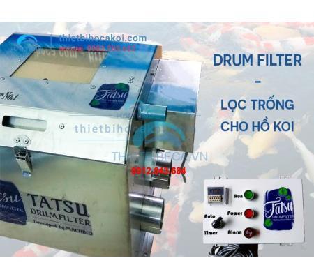 Drum Filter, Lọc Trống Hồ Cá Koi
