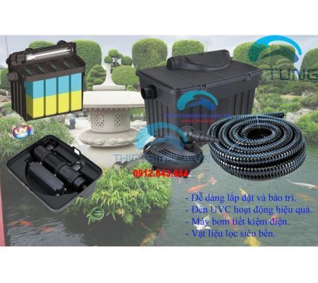 Lọc thùng Boyu YT25000 lưu lượng 4600l/h