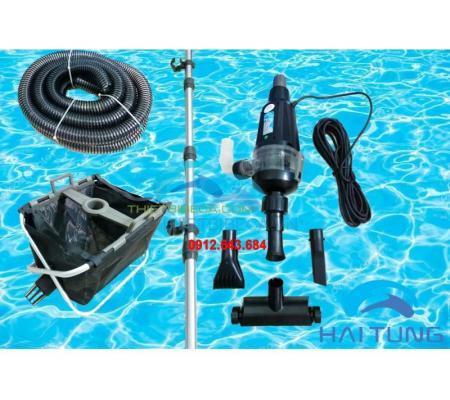 Máy vệ sinh hồ cá koi Hailea PC8000 kèm sọt lọc