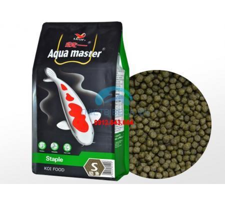 Thức Ăn Cá Koi Cân Bằng Aquamaster Staple Size S 5...