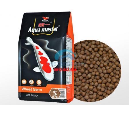 Thức Ăn Cá Koi Mùa Đông Aquamaster Wheat Germ Size S 5kg