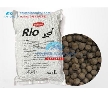 Thức Ăn Cá Koi Tăng Trọng Rio Size L 4kg