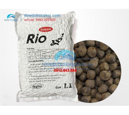 Thức Ăn Cá Koi Tăng Trọng Rio Size LL 4kg
